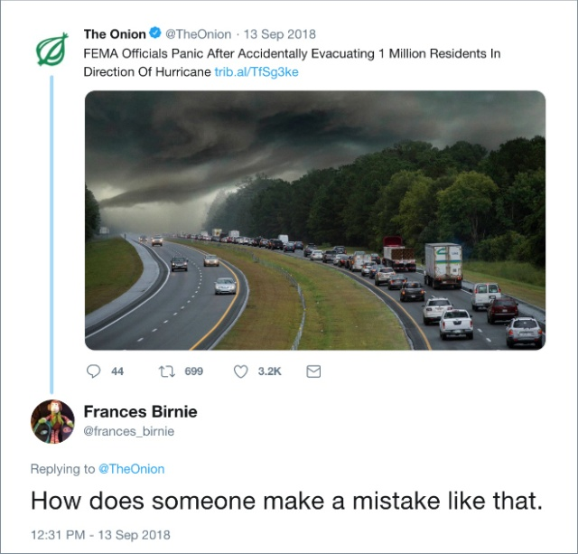"""Some People Take """"The Onion"""" Stories Seriously (20 pics)"""