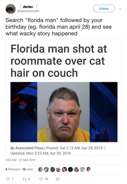 florida man 25th april