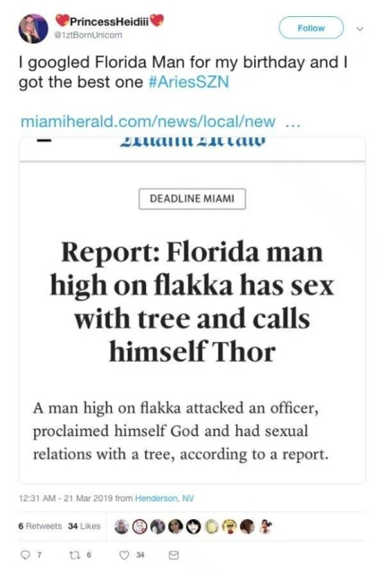 And Which Florida Man Is Your Spirit Animal? (25 pics)
