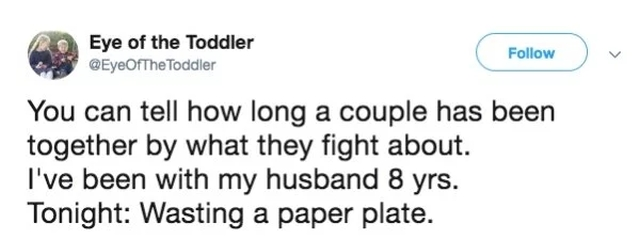 Your Marriage Perfectly Summed Up In Tweets (29 pics)