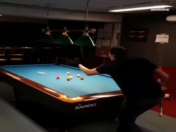 A Real Trick-Shot Virtuoso