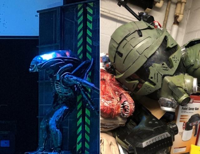 Alien School Play (10 pics)