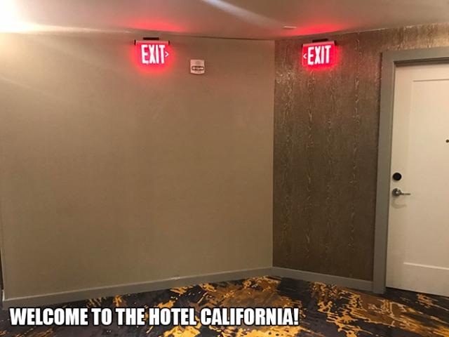 Funny Hotel Fails (20 pics)