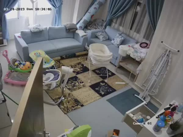 Maid Tells Homeowner She Hears Some Strange Noises In The Nursery