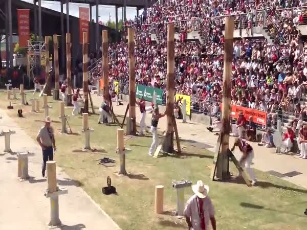 Lumberjack Competitions Are Pretty Intense