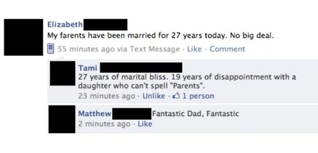 People Who Disappointed Their Parents (25 pics)