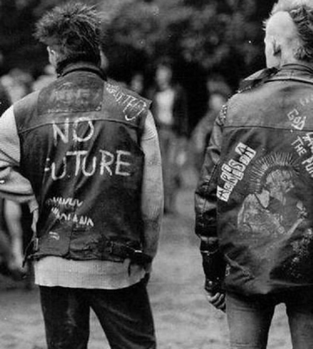 Punk Black Leather Jackets Were Cool (14 pics)