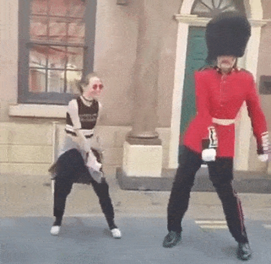 The Queen's Guard GIFs (15 gifs)