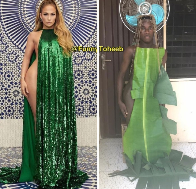 Celebrity Outfit Recreations By Funny Toheeb (24 pics)