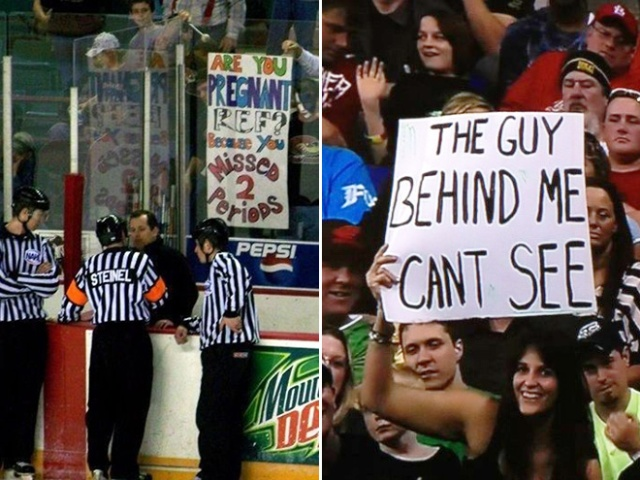 Funny Fan Signs (21 pics)