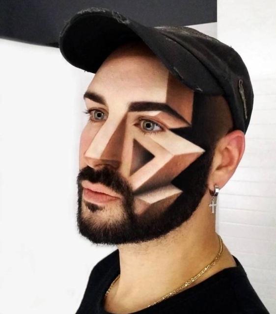 3D Optical Illusions In Makeup (30 pics)