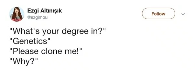 People Tweet The Most Common Responses They Get After Sharing What's Their Degree In (18 pics)