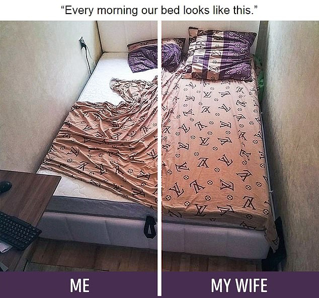 What It's Like To Live With A Husband (10 pics)
