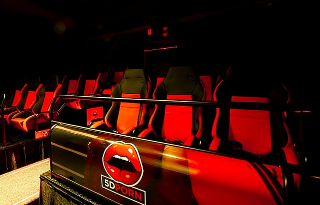 New '5D' Porn Cinema Opens In Amsterdam's Red Light District (7 pics)