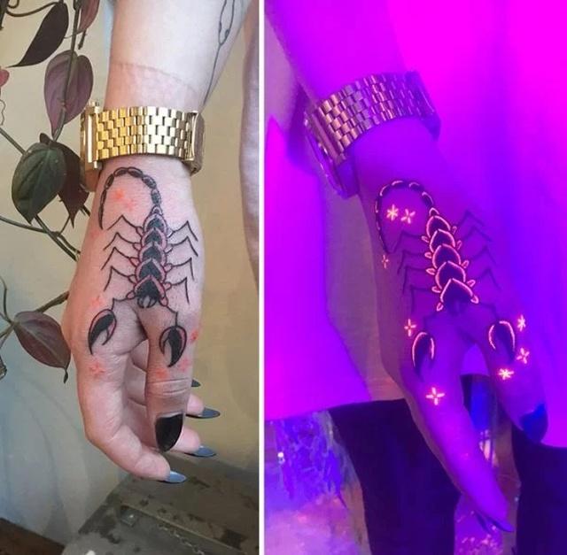 Amazing UV Tattoos (33 pics)
