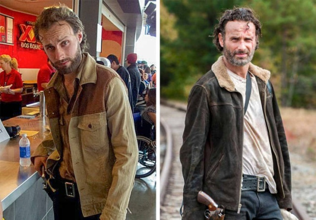 Lookalikes Of Famous Characters (17 pics)