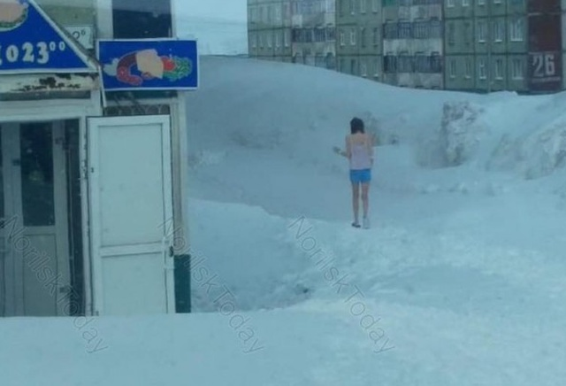 It's Summertime Norilsk, Russia (2 pics)