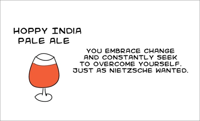 What Your Beer Says About You (16 pics)