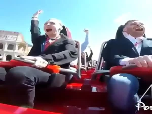 On A Theme Park Ride What Could Go Wrong