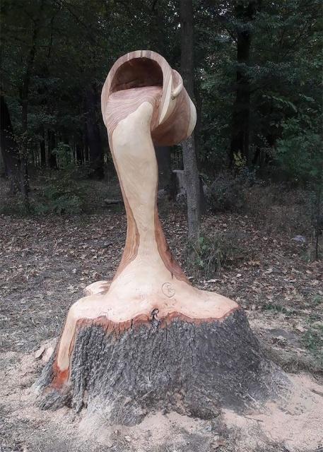 Wood Carving (31 pics)