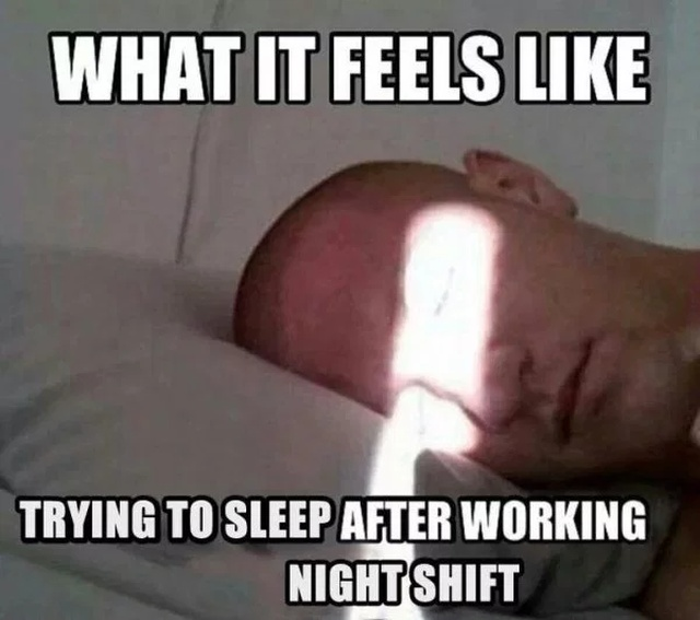 Night Shift Memes (34 pics)