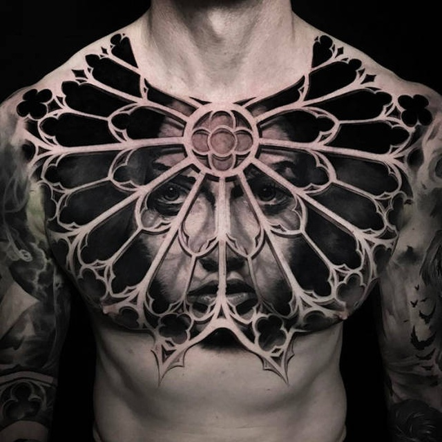 Beautiful 3D Tattoos (42 pics)