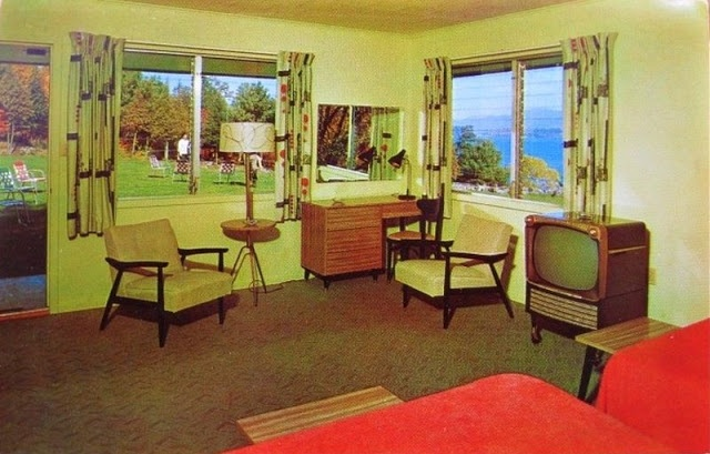 Bedroom Interior Of The 1950s and '60s American Hotels (30 pics)