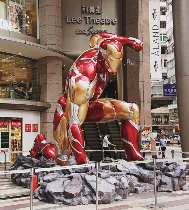Premiere Of The Film Avengers: The Final In Hong Kong (5 pics)
