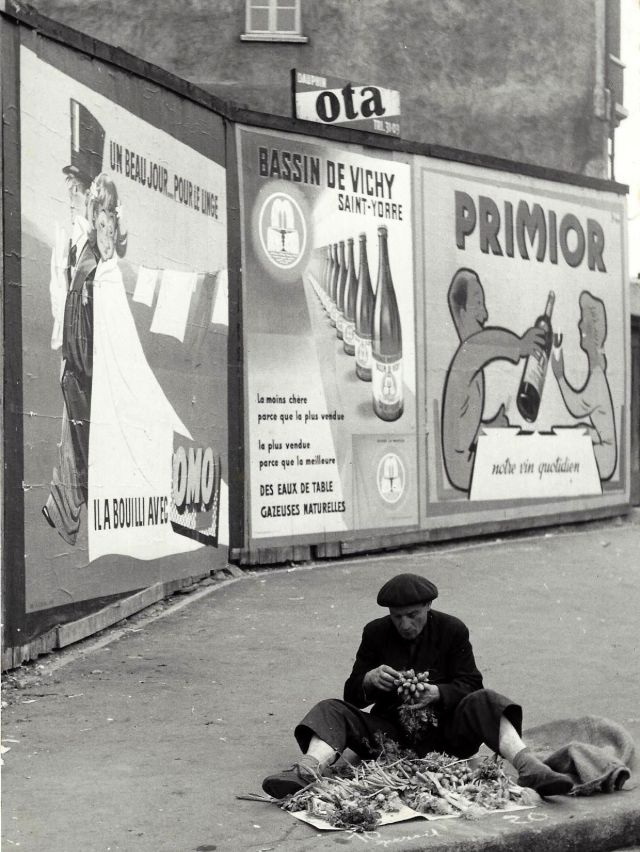 Beautiful Paris in the 1950s By Kees Scherer (35 pics)