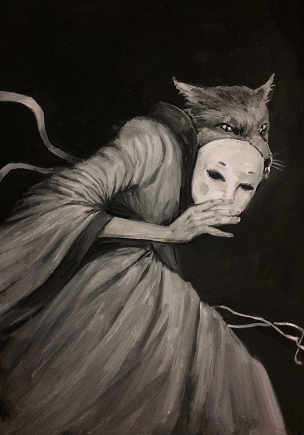 Scary drawings by Dillon Samuelson (25 pics)