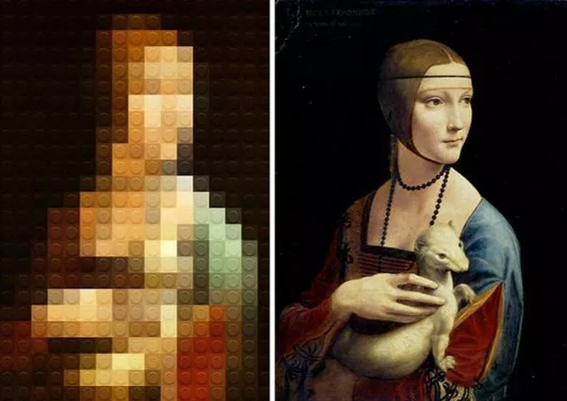 Classical Art With Lego (24 pics)