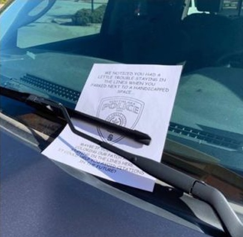 Sometimes Police Officers Have A Great Sense Of Humor (3 pics)