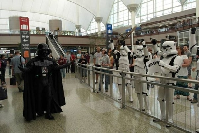 Strange Things At The Airports And Planes (25 pics)
