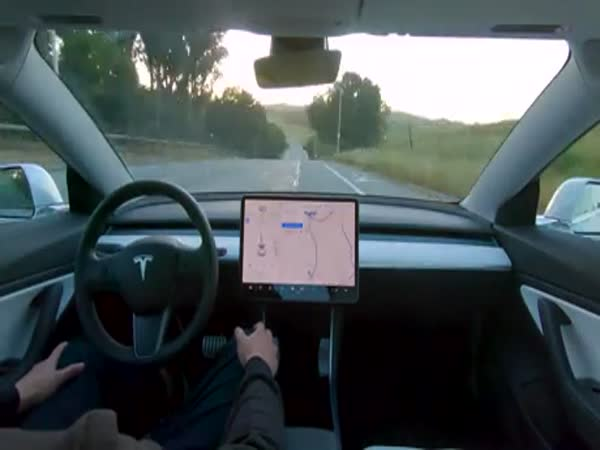 Tesla Demonstrated Full Self Driving