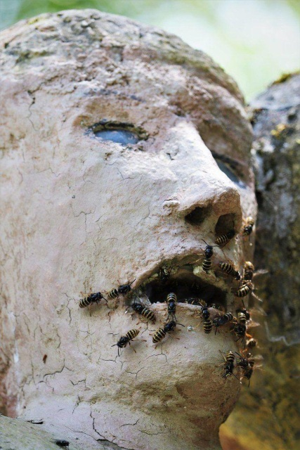 A Finnish Sculptor Made A Whole Village Of Creepy Statues (29 pics)