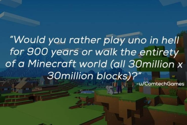 """""""Would You Rather?"""" Is A Very Difficult Game (23 pics)"""