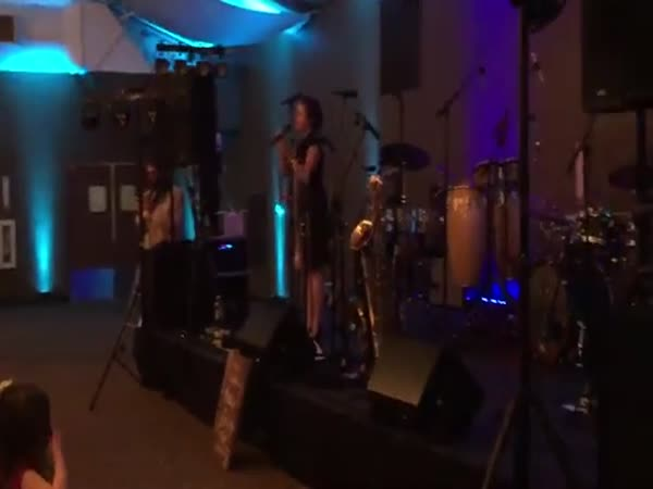 Girl Comes Up With Perfect 'At Last' By Etta James At Her Brother's Wedding