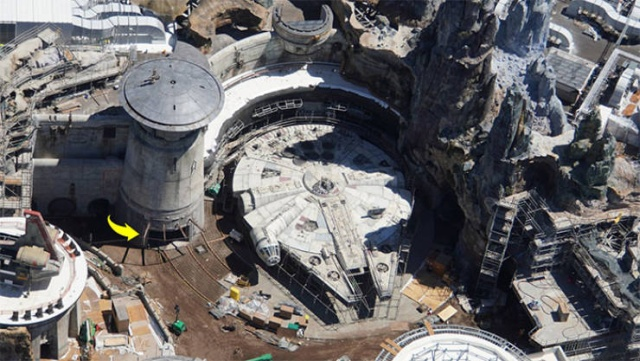 """Disney """"Star Wars"""" Land Is Almost Ready (8 pics)"""
