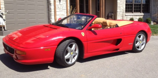 A Burned 1999 FERRARI F355 F1 SPIDER Was For Sale. And Someone Actually Bought It (11 pics)