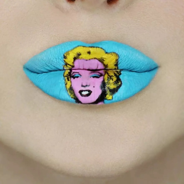 Lips As A Canvas To Create Pop Culture-Inspired Art (25 pics)