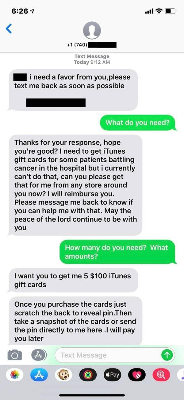 Scammer Gets Trolled. And It's Very Funny (6 pics)