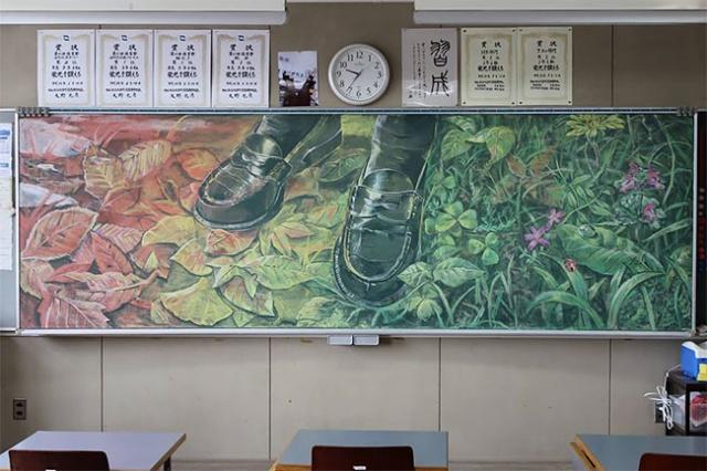 Blackboard Art From Japan (27 pics)