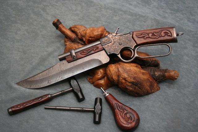 Winchester Pistol-Knife (7 pics)