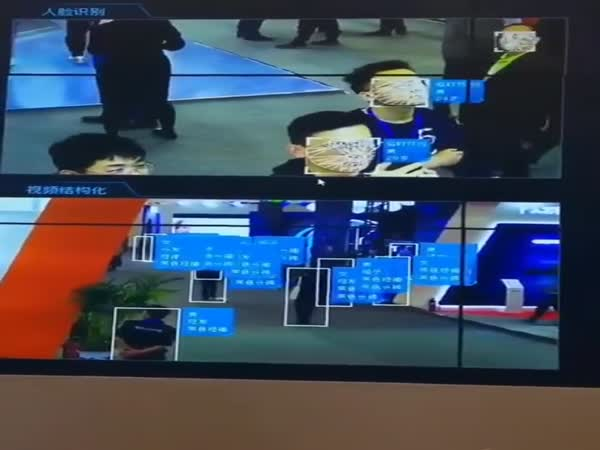 China's Facial Recognition At Work
