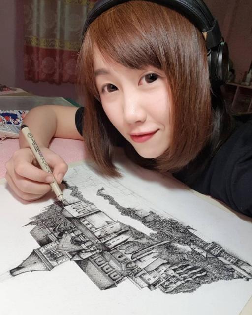 Art By Emi Nakajima (13 pics)