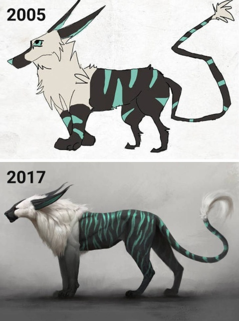 """""""Draw This Again"""" Challenge By Artists (20 pics)"""