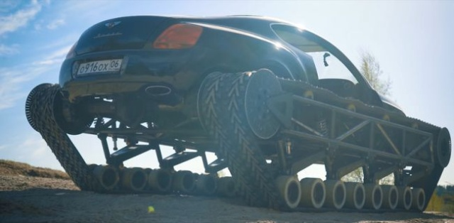 Russians Has Built A Bentley Continental GT Tank (8 pics)