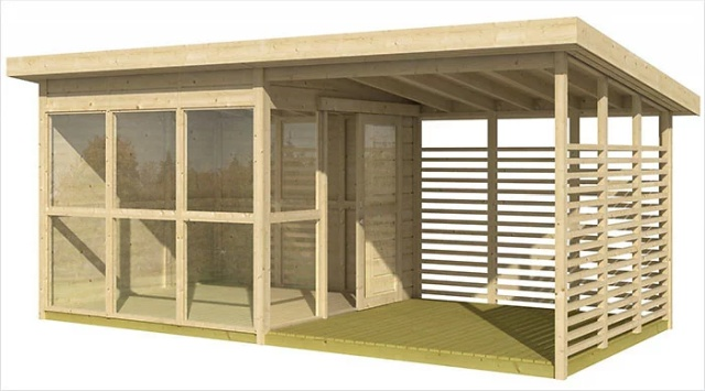 Amazon's Selling A Guesthouse 'Kit' That You Can Build In Your Backyard In 8 Hours (8 pics)