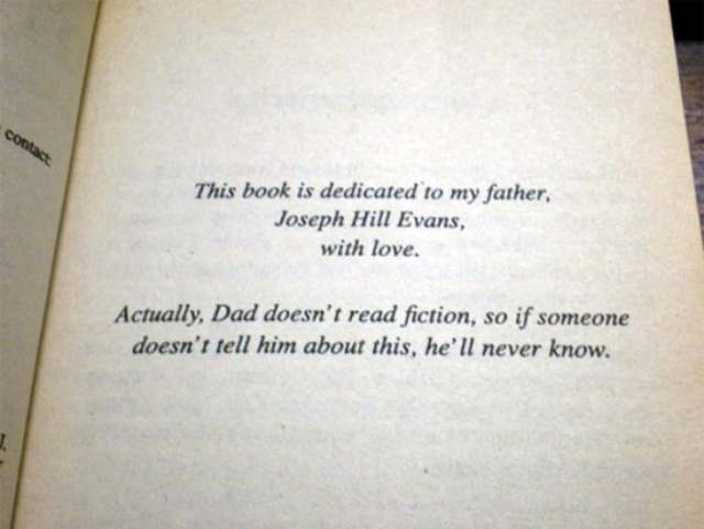Every Good Book Needs A Good Dedication (16 pics)
