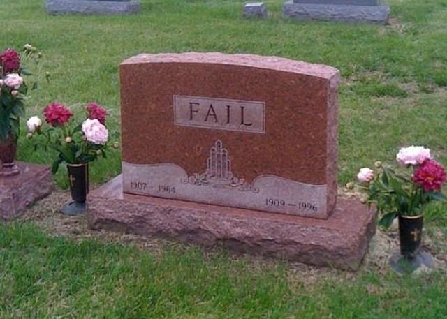Funny Headstones (18 pics)